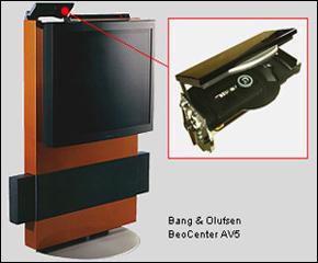 B&O DVD loader fremstillet i vores stamforme-koncept.